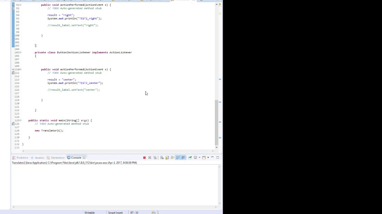 Gui with actionlistener on java using eclipse youtube gui with actionlistener on java using eclipse baditri Gallery
