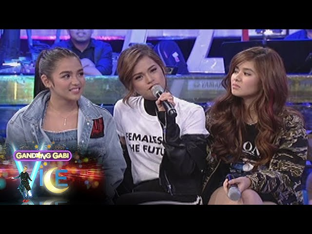GGV: Vice Ganda challenges Loisa Andalio, Maris Racal, and Andrea Brillantes