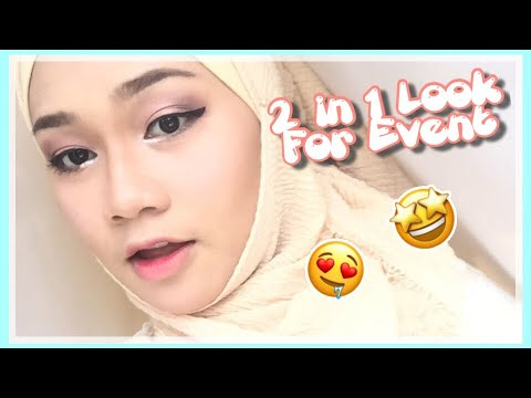SIMPLE LOOK !! 2 in 1 Makeup Tutorial For Event 😱😱