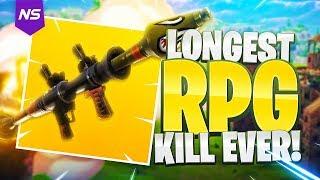 LONGEST RPG KILL EVER ON FORTNITE?