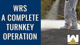 WRS - A Complete Turnkey Operation - Spray Polyurethane Foam
