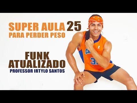 SUPER  25  Ritmos Fitness - 30 Minutos de Funk Atualizado   25  Professor Irtylo Santos