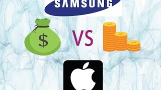 Apple vs Samsung; How Bigger The SAMSUNG is !