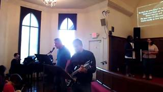 """Good Grace"" (Hillsong United cover) KyleUMC Praise Band 1/20/19"