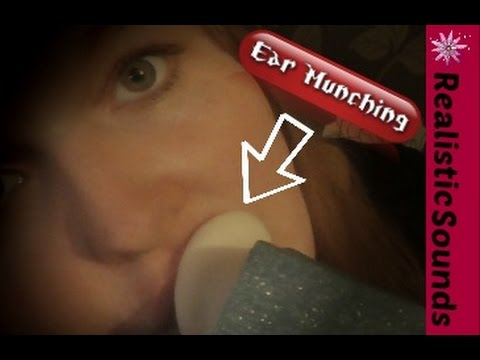 [ASMR] Wet Intense Ear Munching W/ Mouth Cupping, Fast Mouth Sounds [Binaural Realistic]