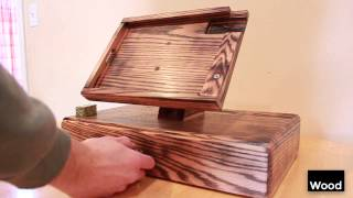 Torched Ipad Stand