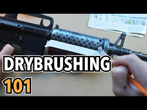 DRY BRUSHING YOUR COSPLAY PROPS | Fallout 4 Cosplay Builds, pt. 2