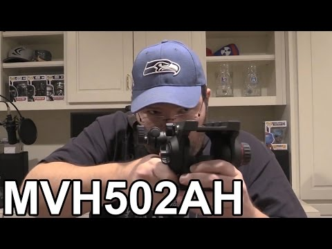 Manfrotto 502HD Pro Tripod Video Head Review (MVH502AH)