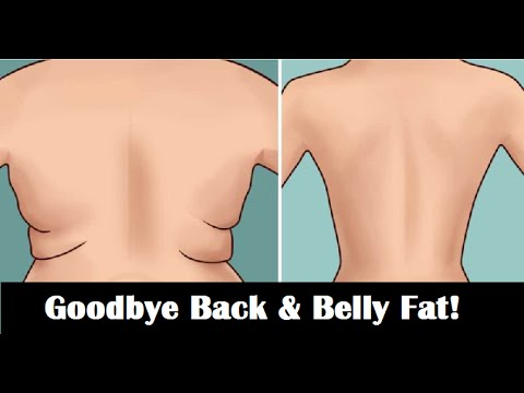 e09ce23a09 How To Lose Back and Belly Fat in 7 Days Naturally 💪 (3 simple workout  moves!)