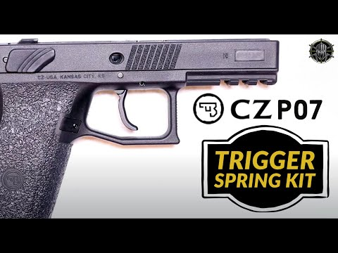 CZ P07 Disassembly & CZ P07 Trigger Job with M*CARBO CZ P07 Accessories!