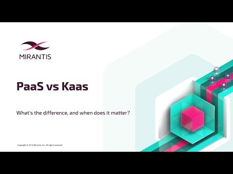 Webinar: PaaS Vs KaaS: What's The Difference, And When Does It Matter?