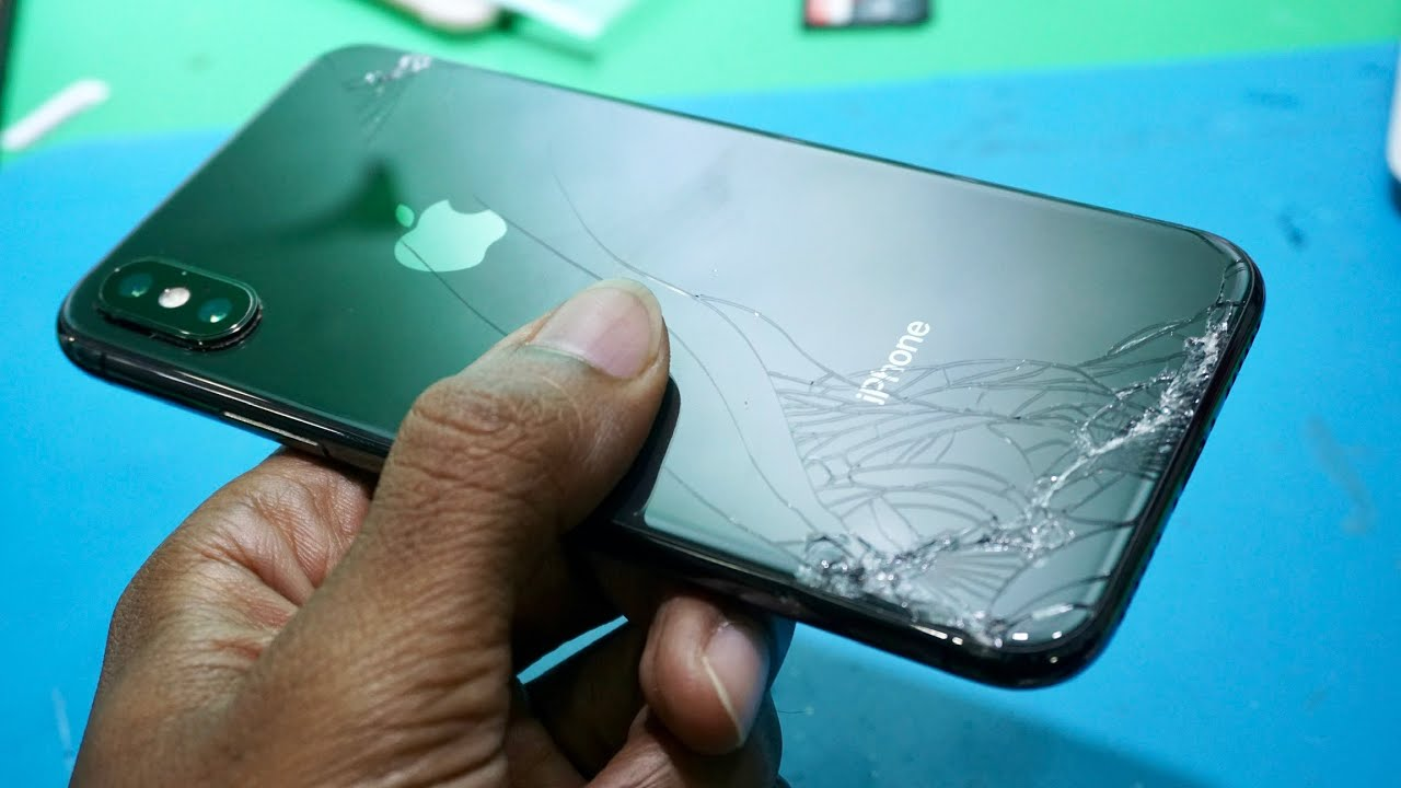 iPhone X replacement back glass [First Time] - YouTube