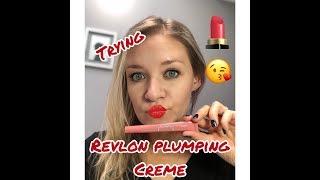 Testing the Revlon Kiss Plumping Lip Creme