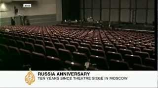 Marking the Moscow theatre siege