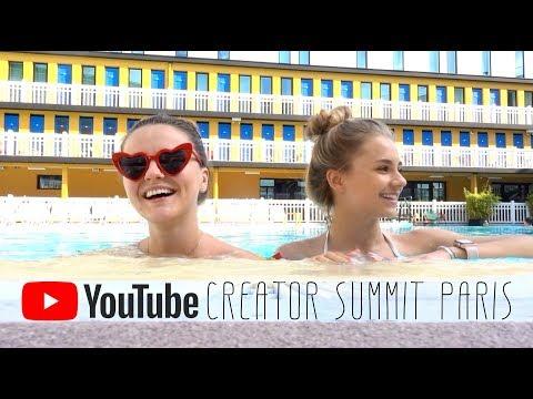 В ПАРИЖ с блогерами! РАСПАКОВКА подарка от Youtube Creator Summit 2019