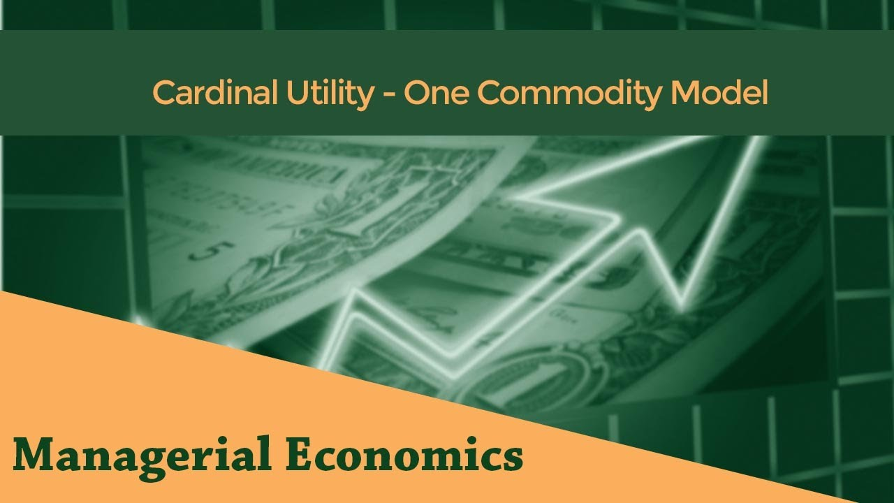 cardinal utility approach definition