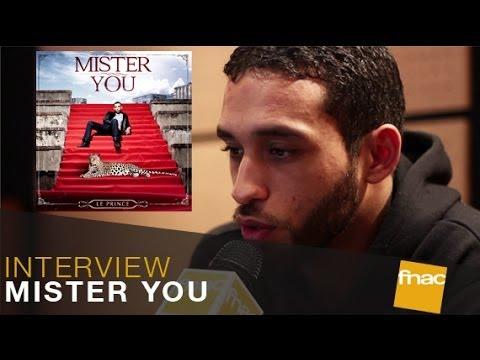 """Interview Fnac Musique de Mister You pour son nouvel album """"Le prince"""""""