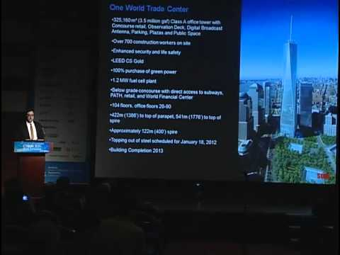 "CTBUH 2011 Seoul Conference - Nicholas Holt, ""One World Trade Center"""