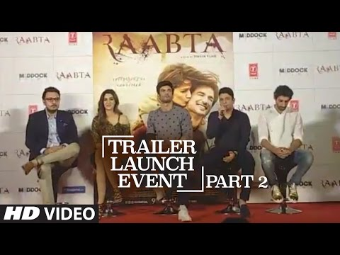 Thumbnail: Youtube Live Session : Raabta Trailer Launch | Part - 2 | Sushant Singh Rajput & Kriti Sanon