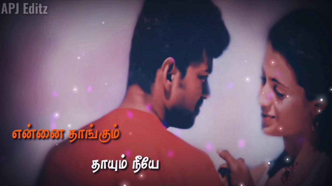 Download Kannum kannumthan song ❤ Vijay super hit song lyrics ❤ - Thirupachi   Tamil whatsapp status