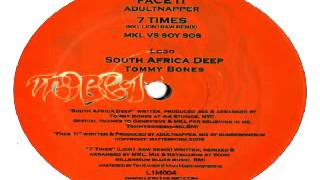Tommy Bones -- South Africa Deep