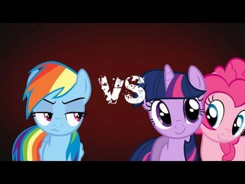 Epic Rap Battles of Pony - Dr Twilight Sparkle VS Rainbow Dash