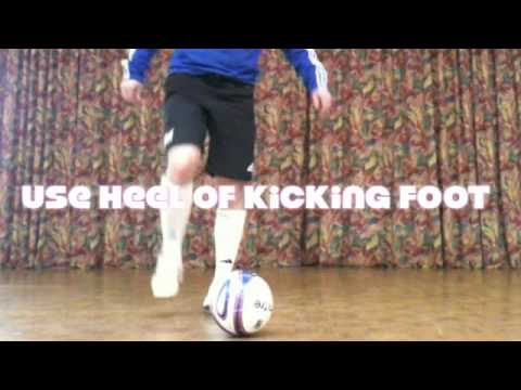 Maradona flick up move - Learn Football Soccer Skills