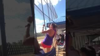 Crazy Baseball Mom