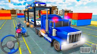 US Police Car Transport Cargo Ship Simulator - Police Game! Android gameplay