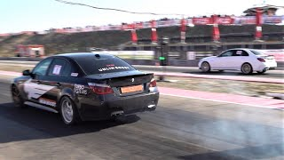 BMW 535d Diesel vs Mercedes AM…