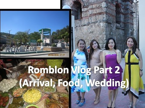 VLOG #2 Throwback ROMBLON (April 2016):Arrival,  Romblon food, Wedding in Romblon