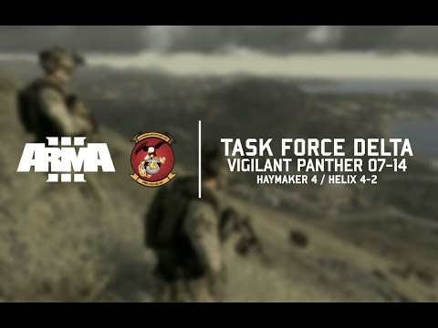 VIGILANT PANTHER 07-14 - 15th MEU Task Force Delta // Arma 3 CO-OP Gameplay