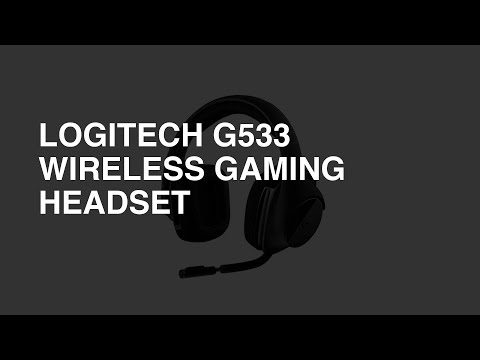 Logitech G533 Wireless Gaming Headset review - Overall Rating: 8.2 / 10