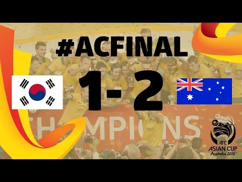 FINAL: Korea Republic vs Australia- AFC Asian Cup Australia 2015
