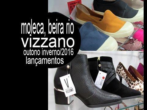 9eaf511ba Vizzano, Moleca, Beira Rio: Lançamentos Inverno/2016 - YouTube