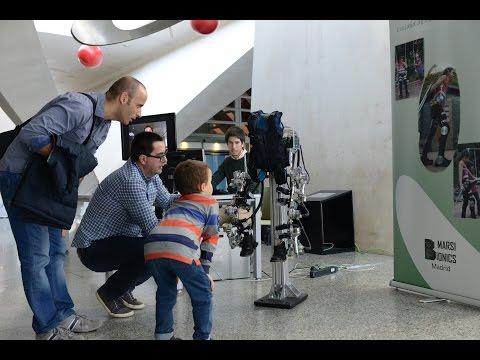 El Museo Príncipe Felipe y Marsi Bionics presentan un prototipo de exoesqueleto