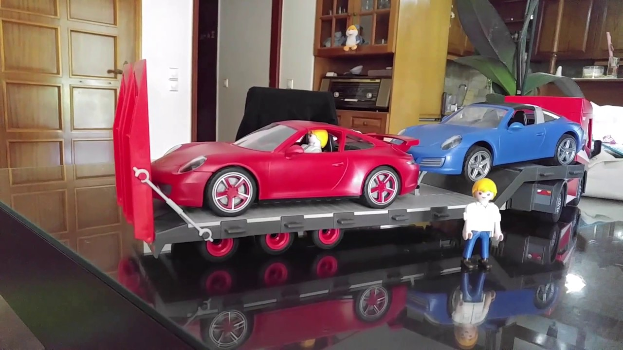 playmobil porsche 911 carrera s targa 4s youtube. Black Bedroom Furniture Sets. Home Design Ideas