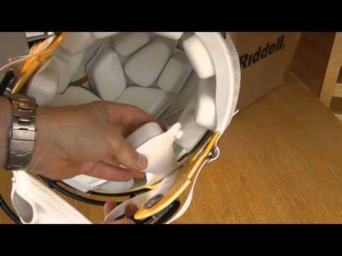 Riddell Speed Green Bay Packers Helmet unboxing
