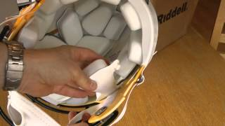 Riddell Speed Green Bay Packers Helmet unboxing