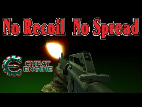 Game Hacking: Technique To Find No Recoil/No Spread /Accuracy