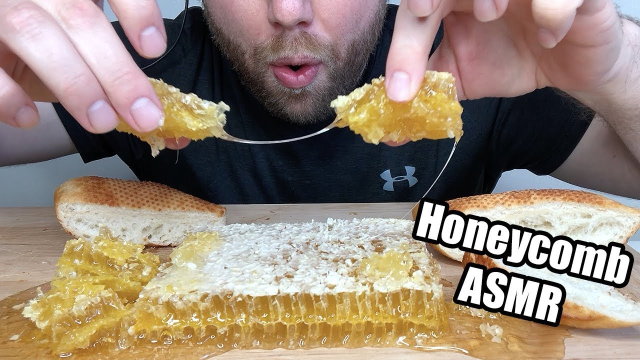 Asmr Honeycomb Extreme Savage Sticky Eating Sounds No Talking