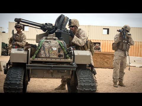 Future Military Technology: US Marines test new Future Weapons, Military Drones, Robots & Equipment