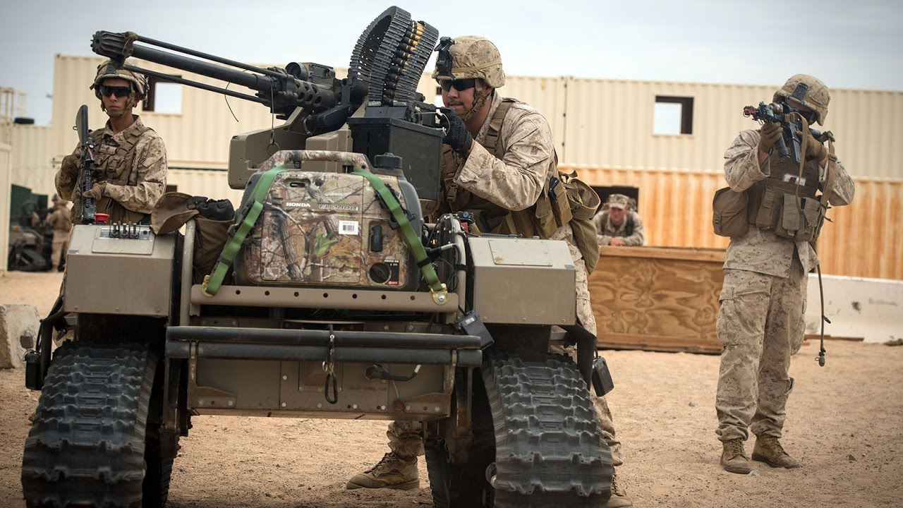 Future Military Technology: US Marines Test New Future