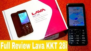 Lava KKT 28i| Full Review | Best Feature Phone Under 1500Rs