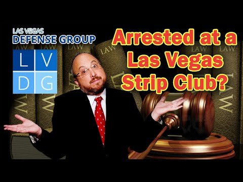 Arrested at a Las Vegas strip club  YouTube