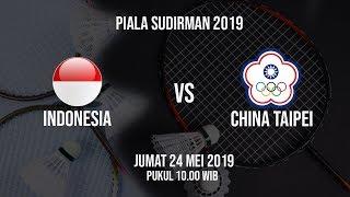 Jadwal Perempat Final Piala Sudirman 2019, Indonesia Vs China Taipei, Jumat (24/5)