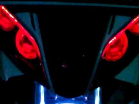 Lampu led motor new jupiter z: Modification new jupiter z red devil m1