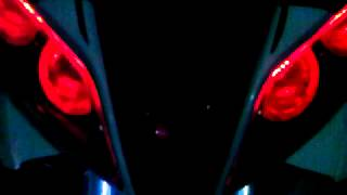 Repeat youtube video Modification New Jupiter Z Red Devil M1 with LED Neon Box strobe mode