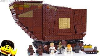 LEGO Star Wars Sandcrawler 2018 set review! 75220