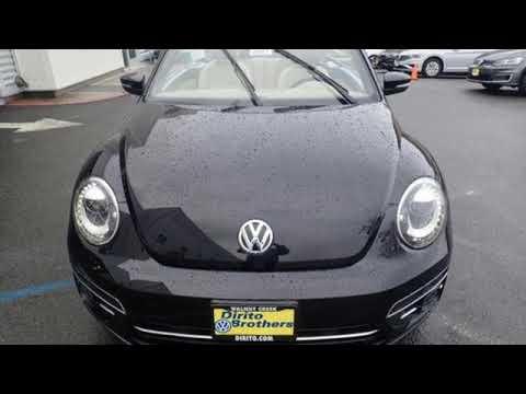New 2019 Volkswagen Beetle Convertible Walnut Creek, CA #49911